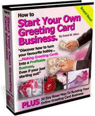 Greeting Card Biz, a complete greeting card business book and commercial photo greeting card templates package.